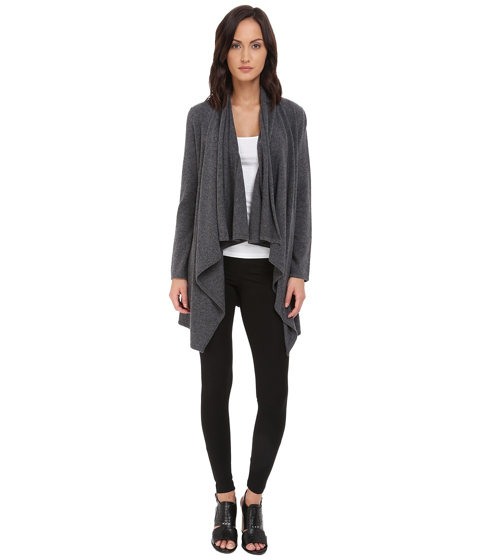 The Kooples - Cashmere Wool Cardigan (Grey) Women's Sweater