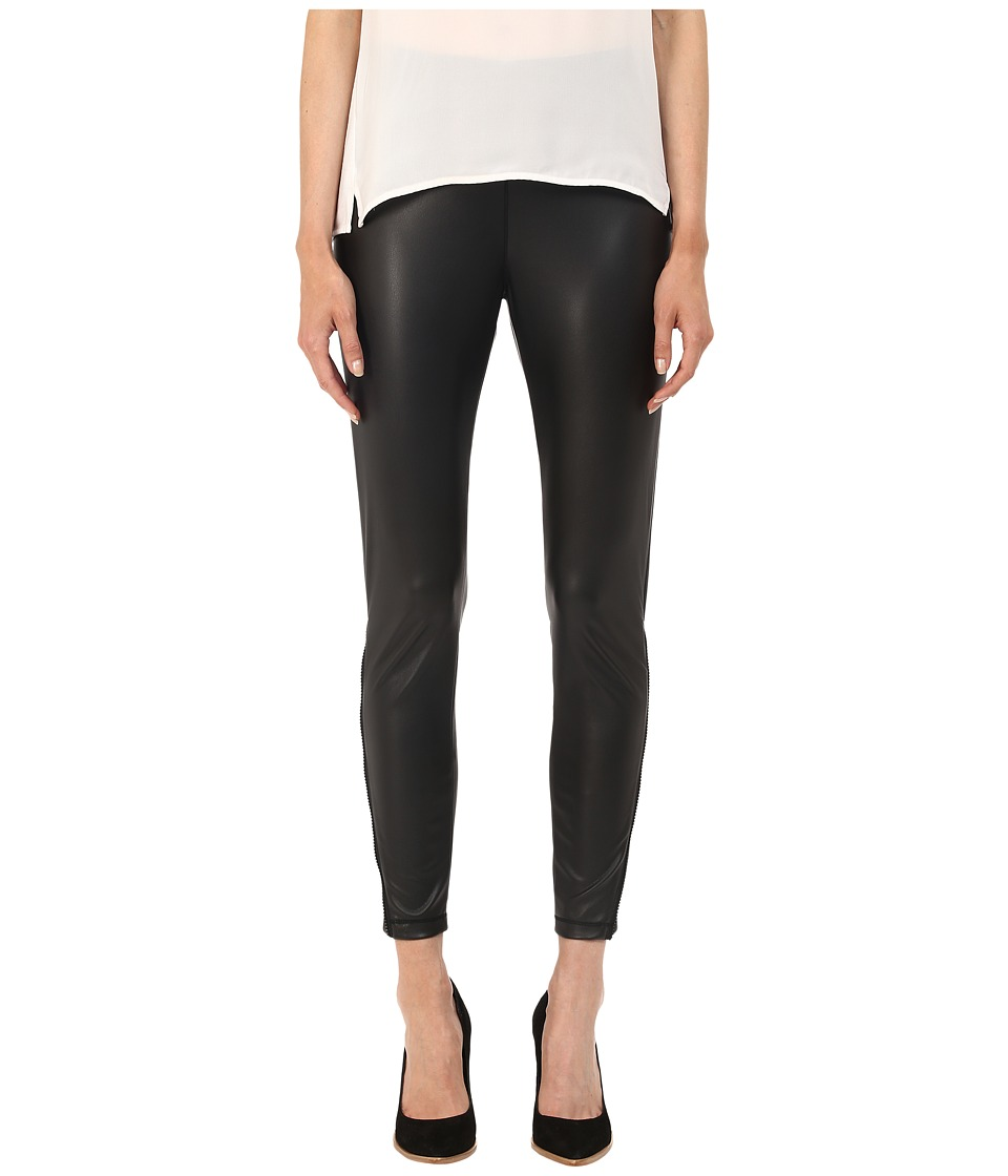 The Kooples - Extra Stretch Nappa Pants (Black) Women's Casual Pants