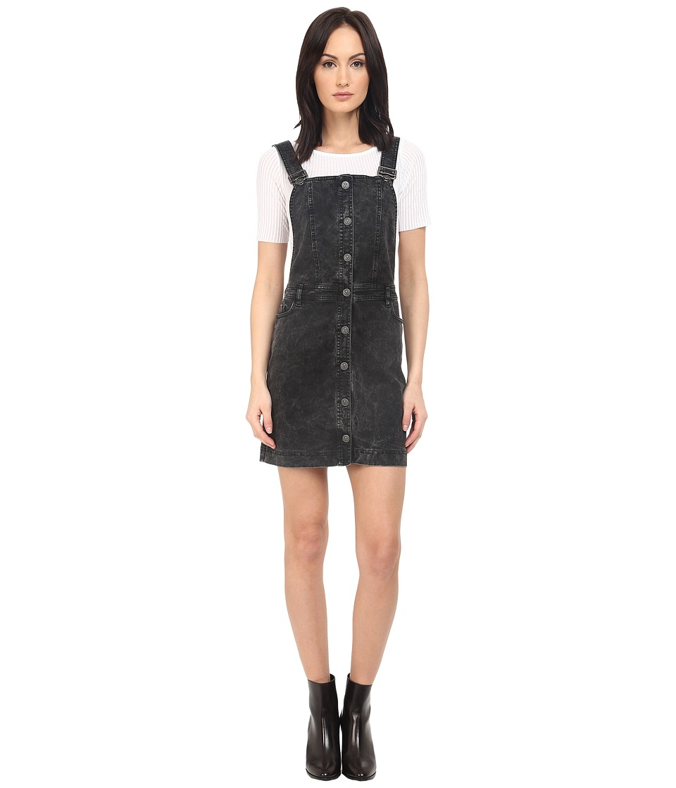 The Kooples Snow Denim Combinaison Grey Dress