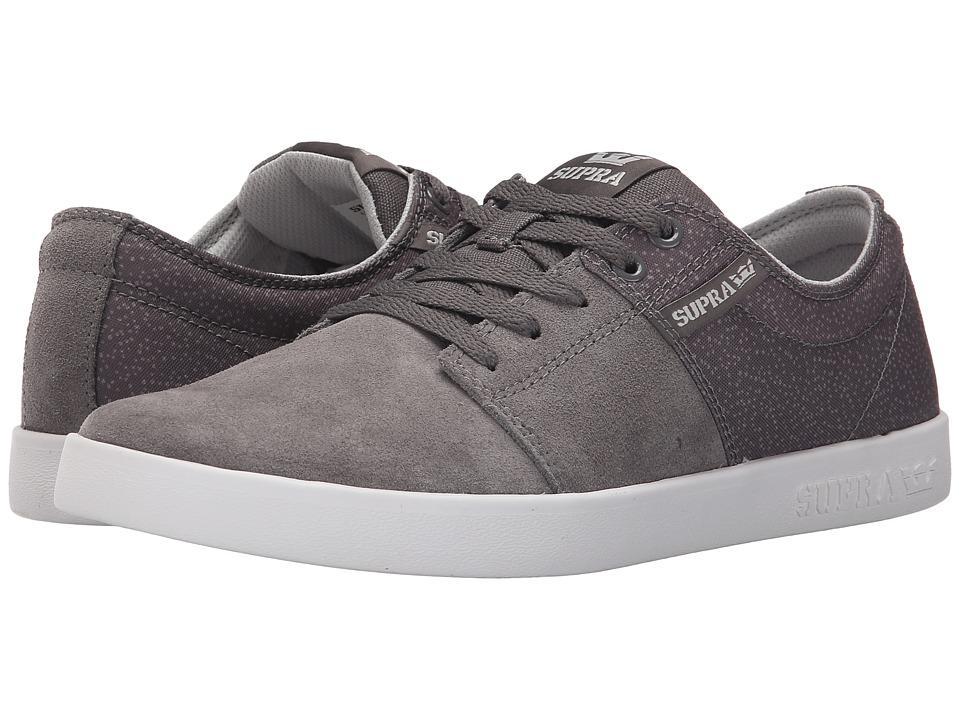 Supra - Stacks II (Charcoal/White) Men's Skate Shoes