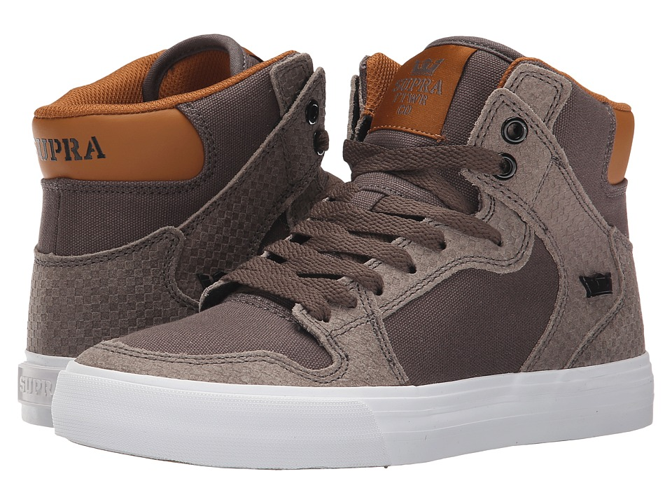 Supra - Vaider (Morel/Cathay Spice/White) Women's Skate Shoes