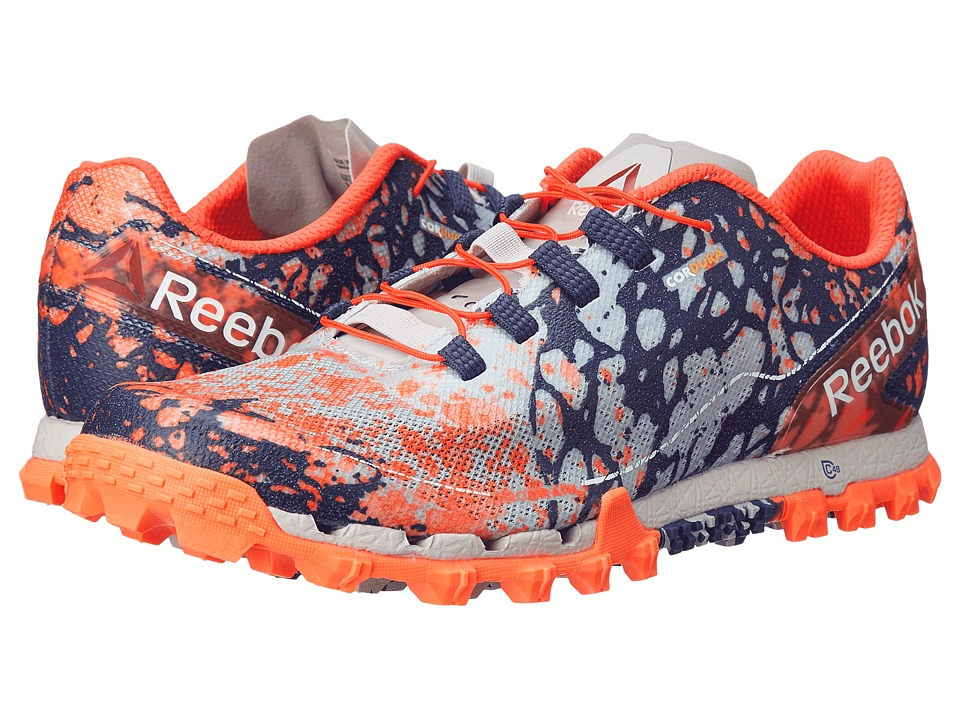 Reebok - All Terrain Super OR (Electric Peach/White/Atomic Red/Steel/Night Beacon) Women's Running Shoes