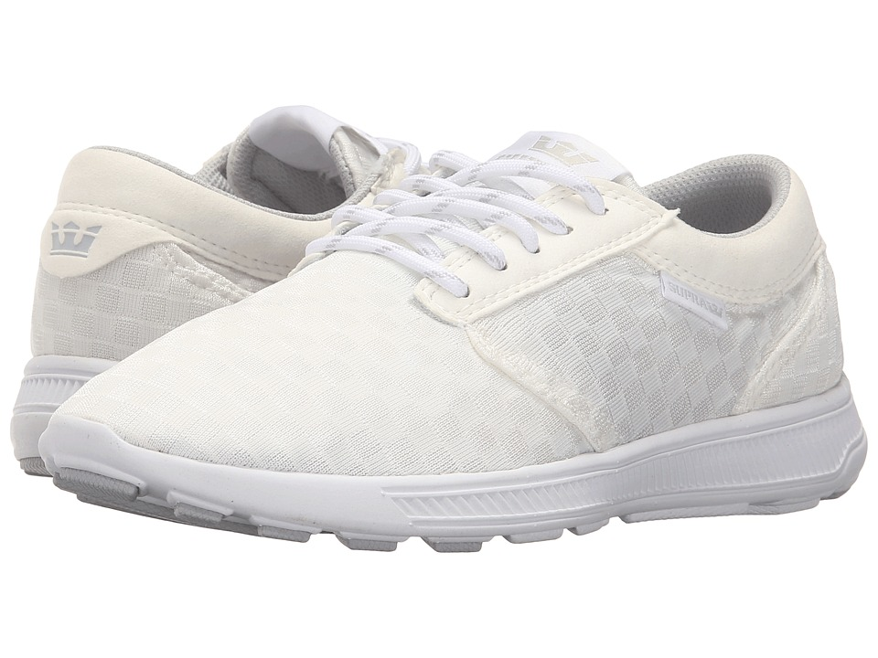 Supra - Hammer Run (White/White 2) Women's Skate Shoes