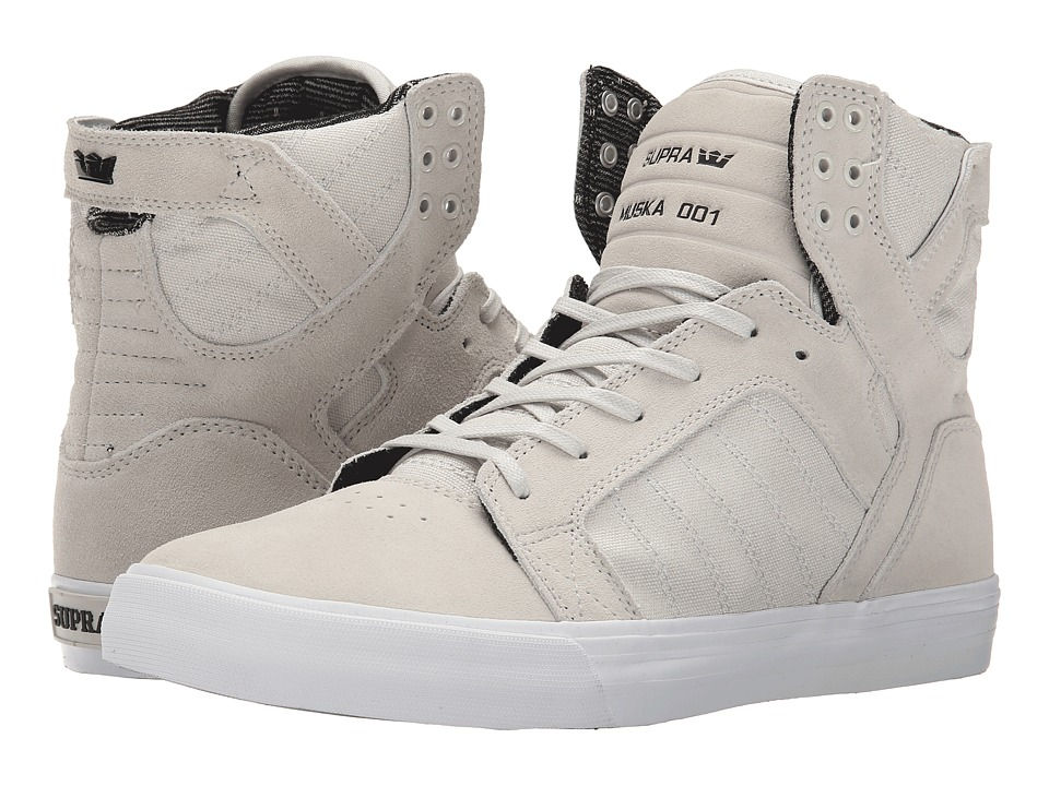 Supra Skytop (Light Grey/White) Men