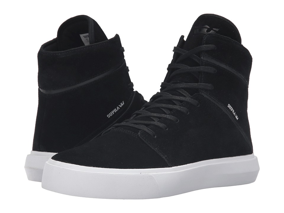 Supra - Camino (Black/White) Men's Skate Shoes