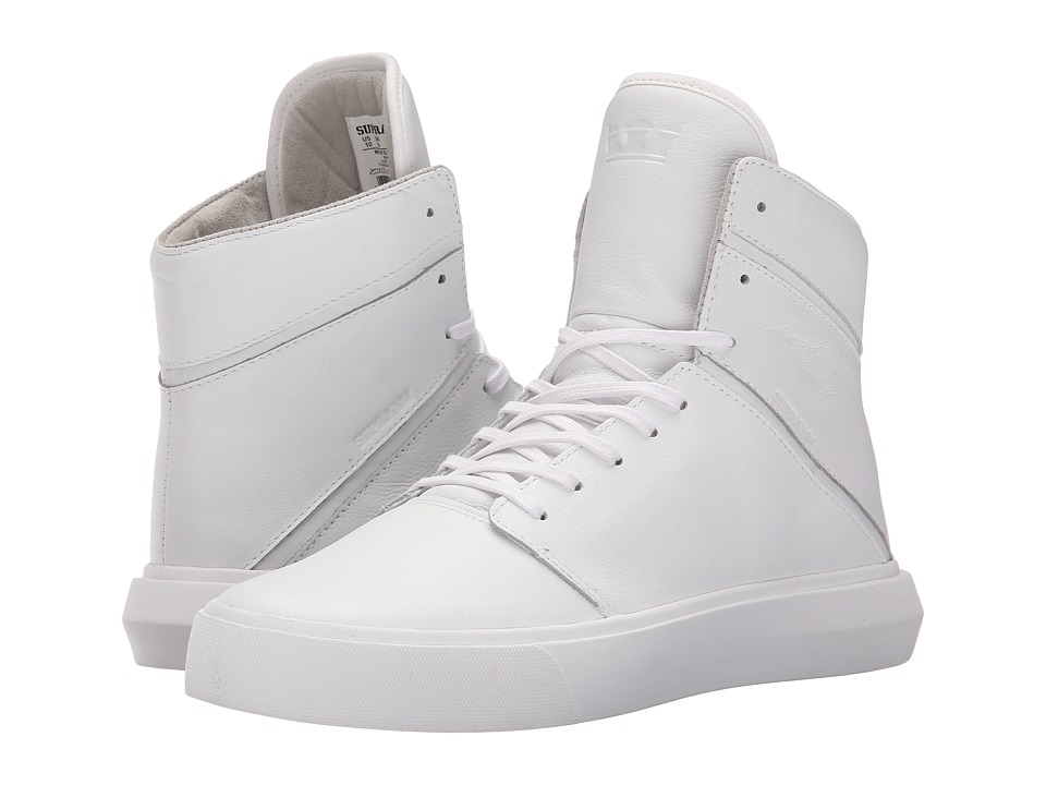 Supra - Camino (White/White) Men's Skate Shoes