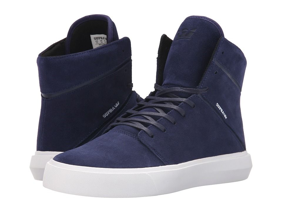 Supra - Camino (Navy/White) Men's Skate Shoes