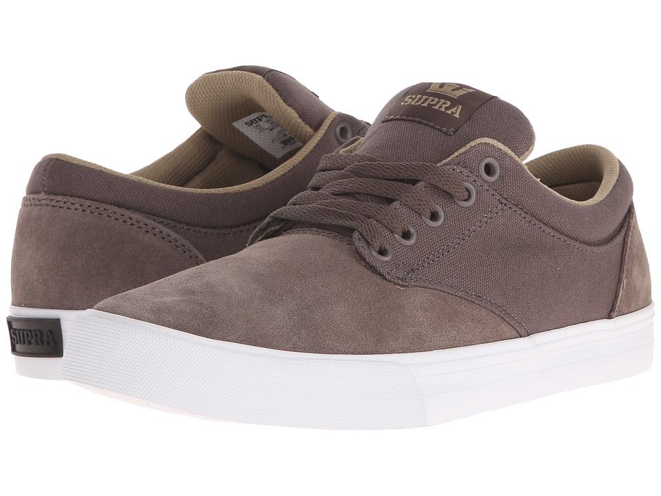 Supra - Chino (Morel/Khaki/White) Men's Skate Shoes
