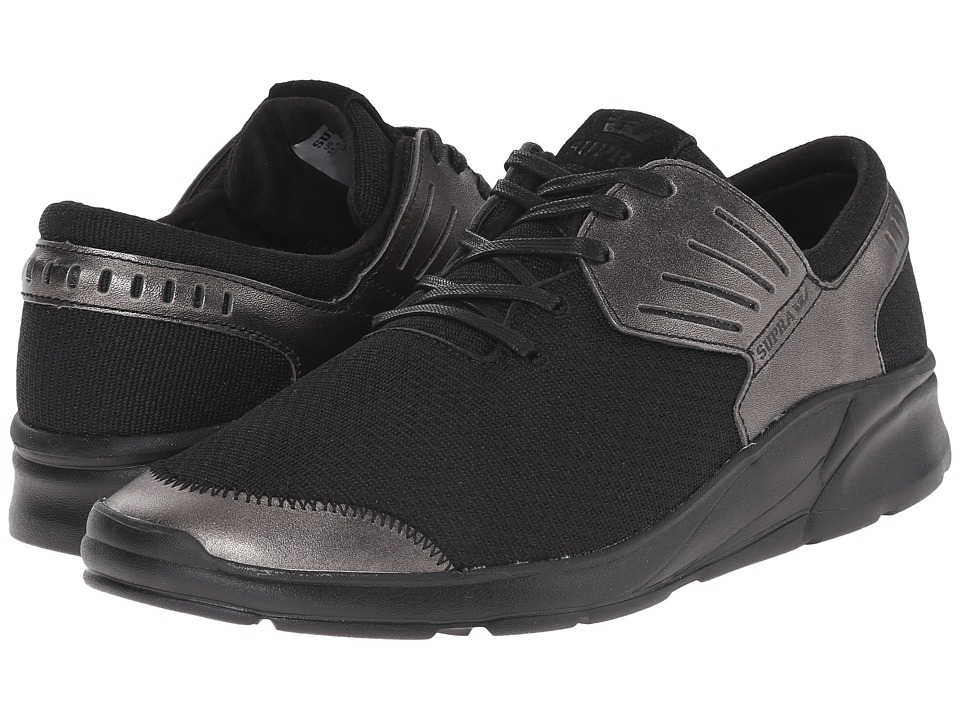 Supra - Motion (Gunmetal/Black) Men's Skate Shoes