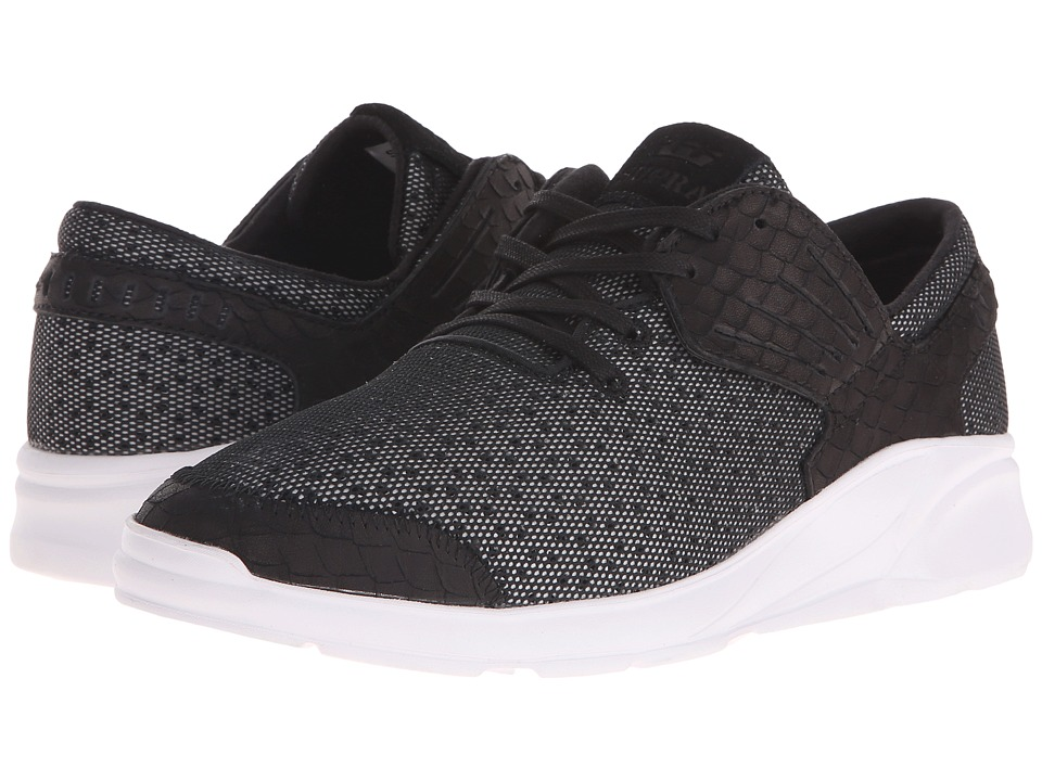 Supra - Motion (Black/White) Men's Skate Shoes