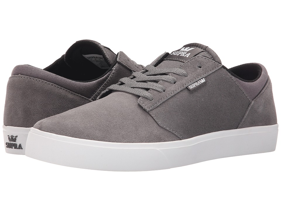 Supra - Yorek Low (Charcoal/Magnet/White) Men's Skate Shoes