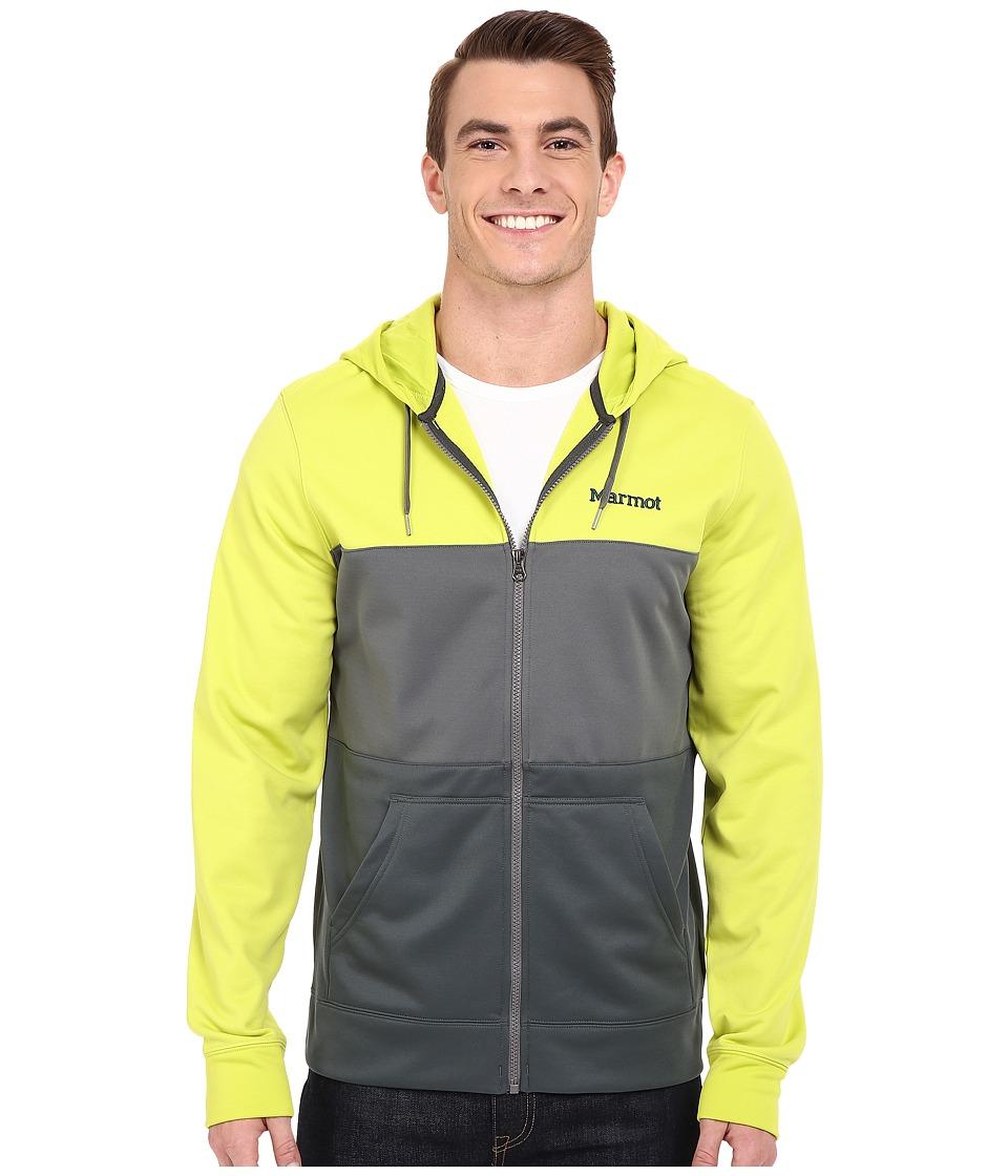 Marmot - Rincon Hoodie (Bright Lichen/Cinder) Men's Sweatshirt