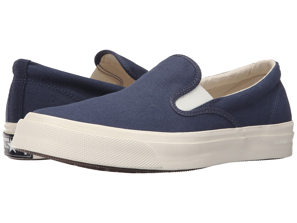 Converse - Deck Star '70 Slip (Navy/White/Egret) Slip on Shoes