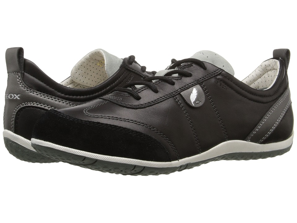 Geox - W Vega 2 (Black) Women's Lace up casual Shoes