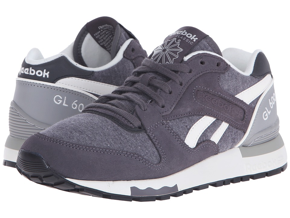Reebok Lifestyle - GL 6000 Jersey (Ash Grey/Tin Grey/Chalk/Black) Women's Classic Shoes