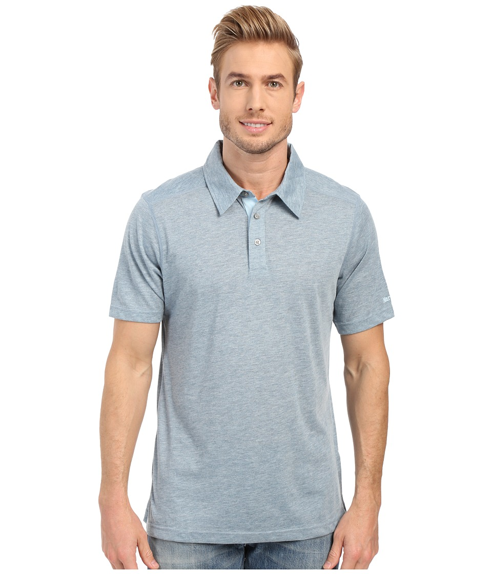 Marmot - Wallace Polo (Blue Granite) Men's Short Sleeve Pullover