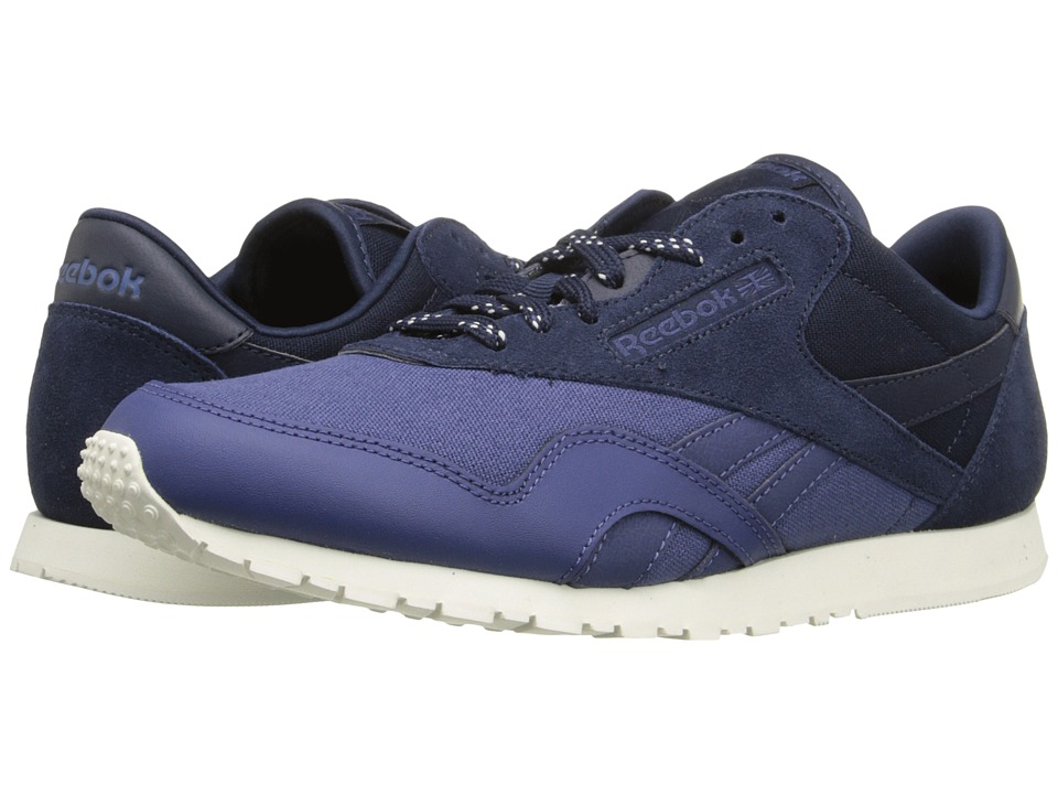 Reebok Lifestyle - Classic Nylon Slim Core (Midnight Blue/Faux Indigo/Chalk/Collegiate Navy) Women's Classic Shoes
