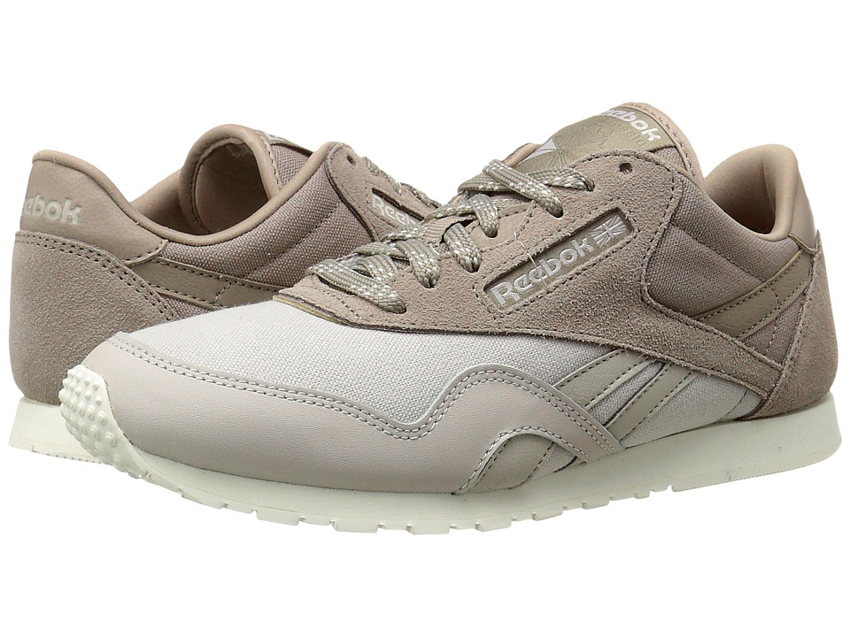 Reebok Lifestyle - Classic Nylon Slim Core (Sand Stone/Beach Stone/Chalk) Women's Classic Shoes