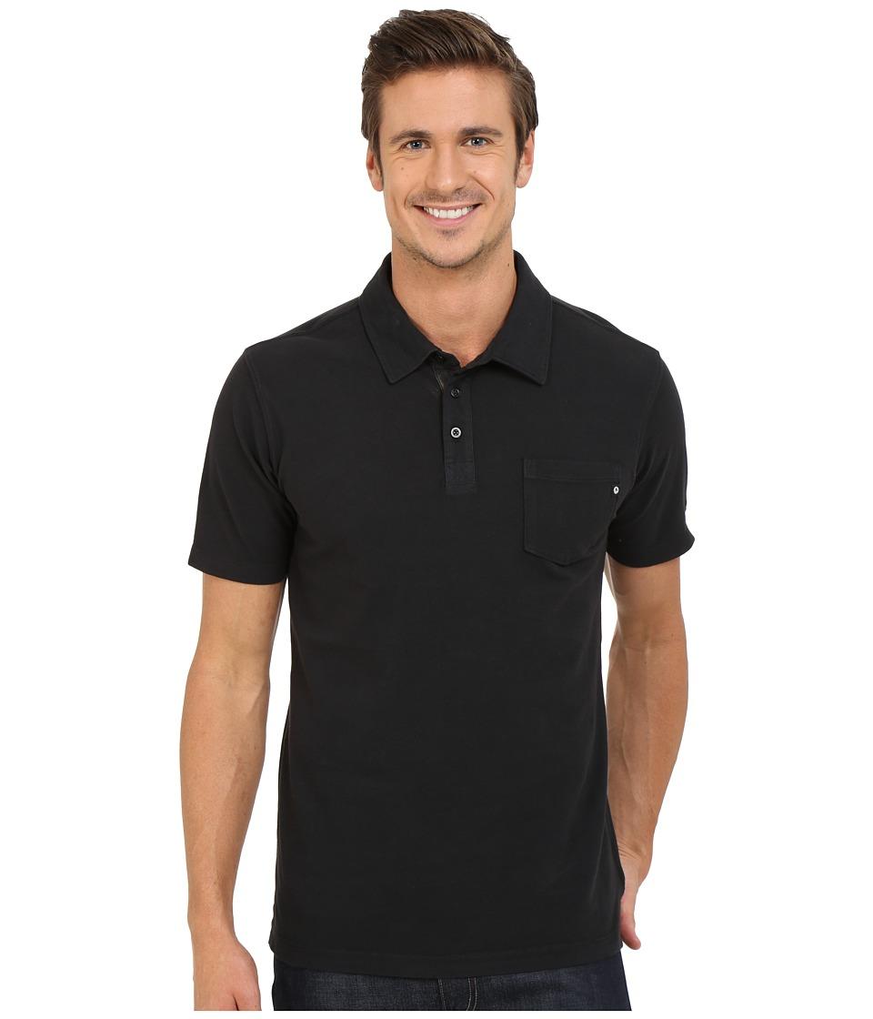 Marmot - Carson Polo (Black) Men's Clothing