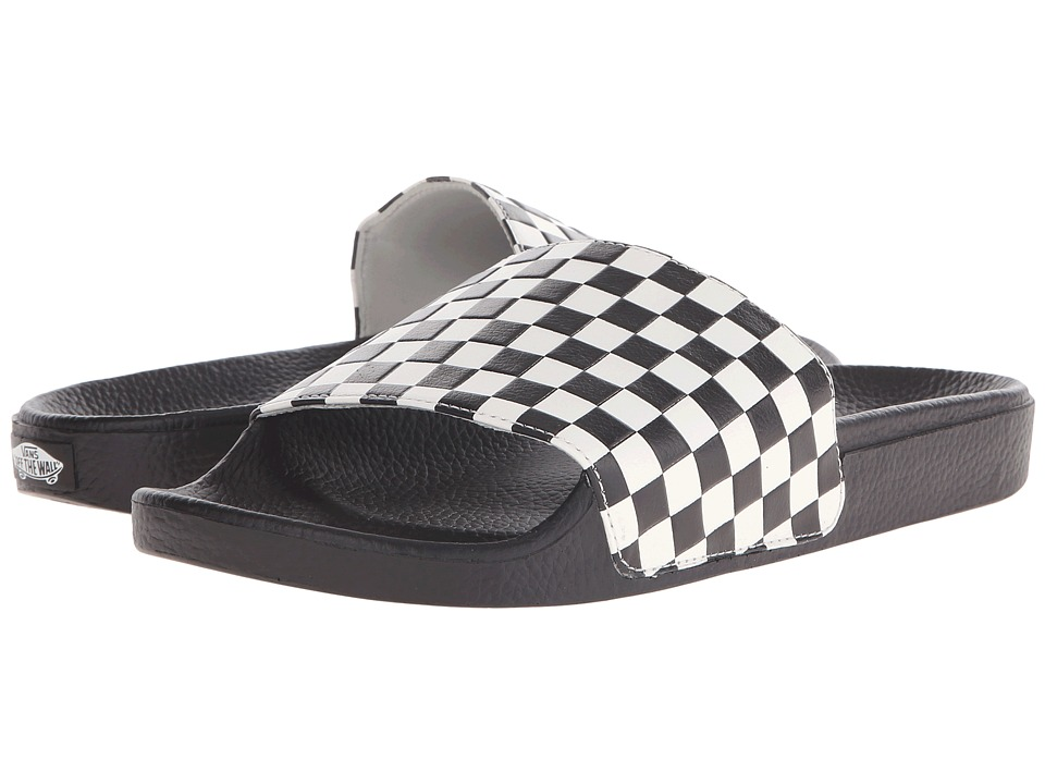 Vans - Slide-On ((Checkerboard) White) Men's Slide Shoes