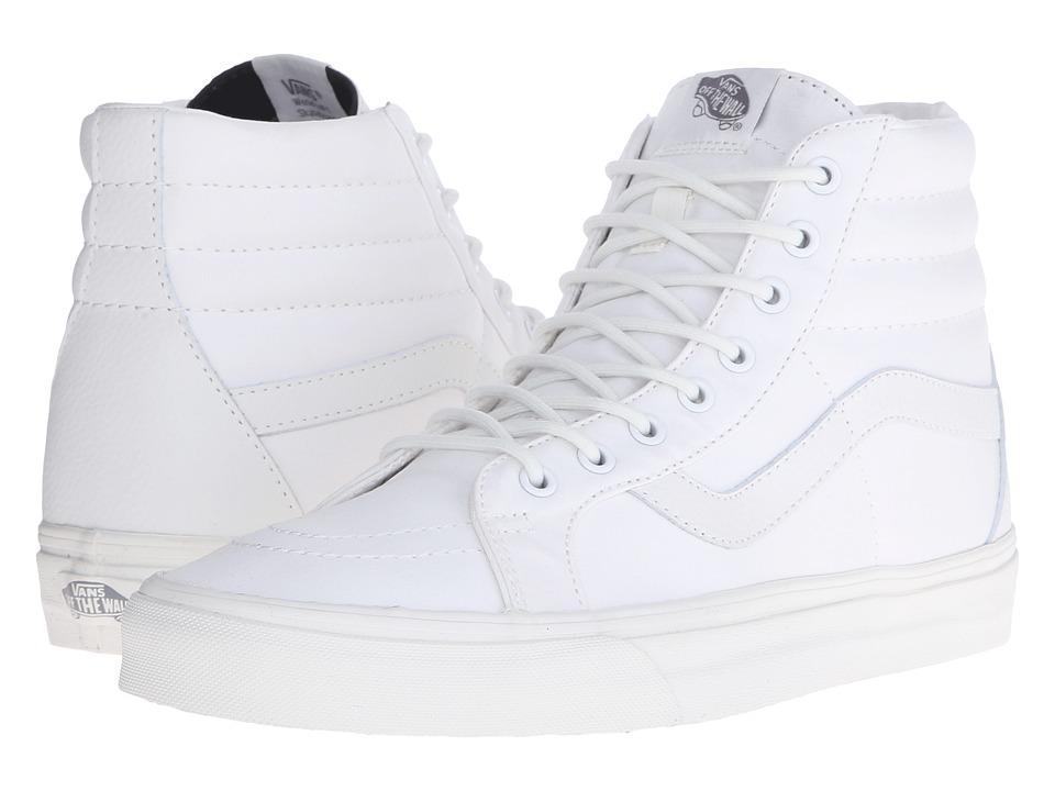 Vans - SK8-Hi Reissue ((Mono T&L) Blanc de Blanc) Skate Shoes