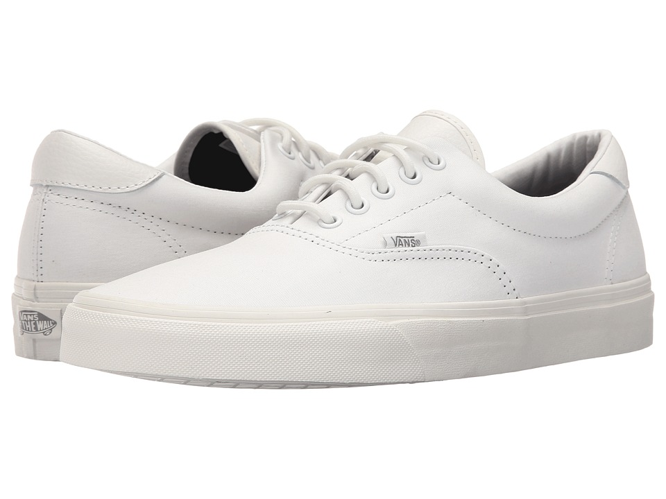 Vans - Era 59 ((Mono T&L) Blanc de Blanc) Skate Shoes