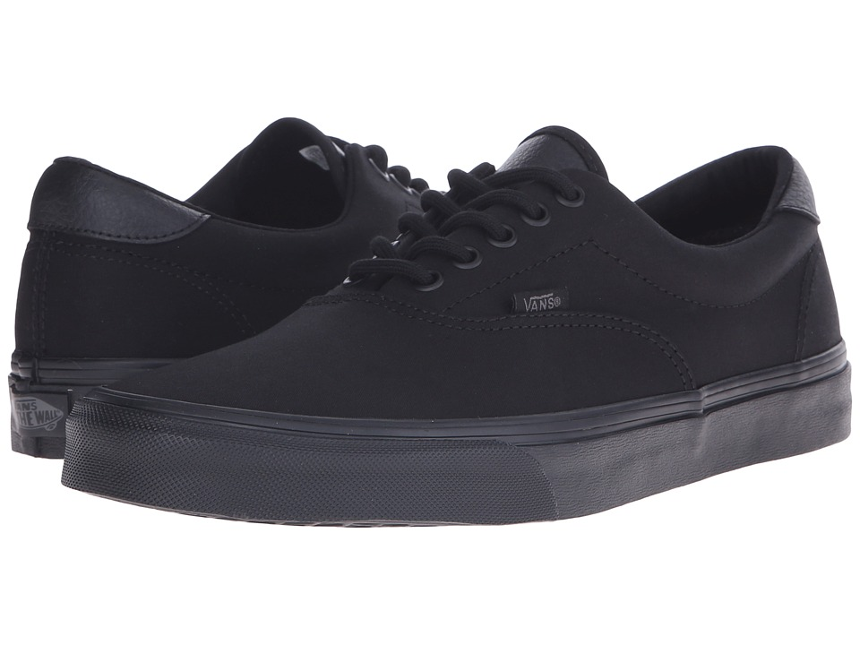 Vans - Era 59 ((Mono T&L) Black) Skate Shoes