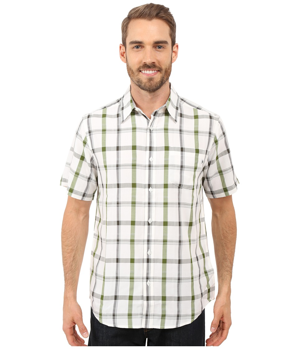Marmot - Bay View Short Sleeve (Green Lichen) Men's Short Sleeve Button Up