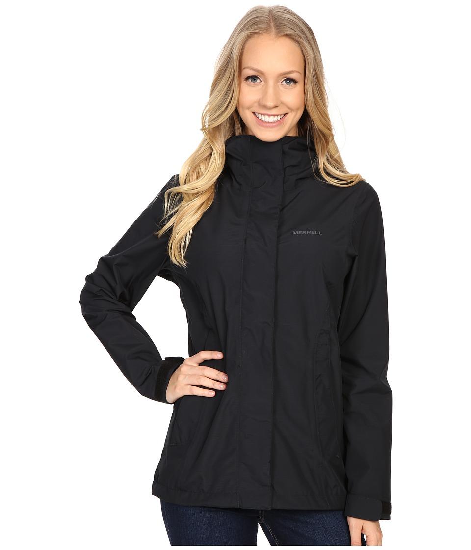d0fbb83257 UPC 635841535765 - Merrell - TrailMist Rain Jacket (Black) Women's ...