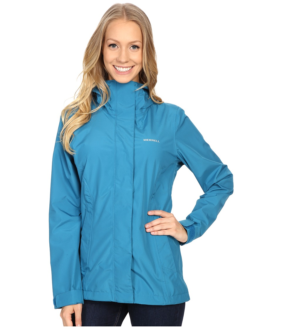 Merrell - TrailMist Rain Jacket (Celestial) Women's Coat
