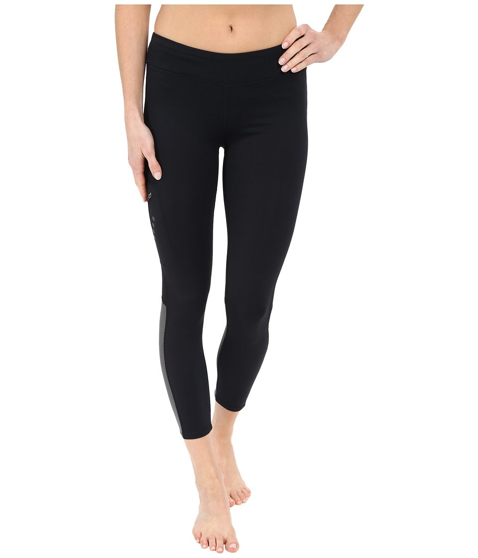 Merrell - Emergent 3/4 Tights (Black) Women's Workout