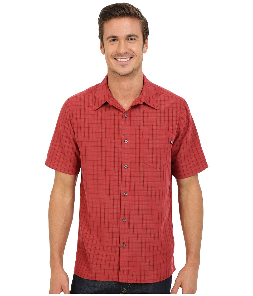Marmot - Eldridge S/S (Redstone) Men's Short Sleeve Button Up