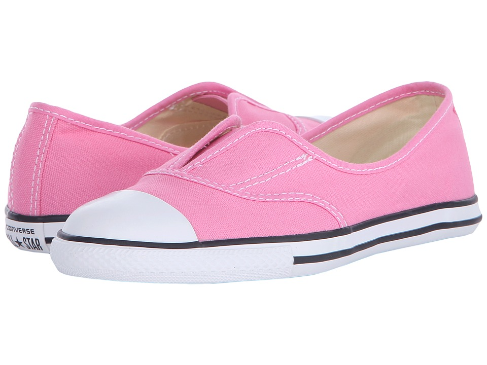 Converse Kids - Chuck Taylor All Star Cove (Little Kid/Big Kid) (Pink/Natural/White) Girls Shoes