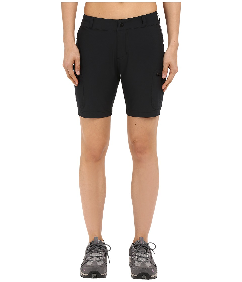 Merrell - Era LT Trail Shorts (Black) Women's Shorts