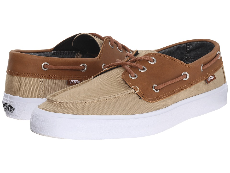 Vans - Chauffeur SF ((C&L) Khaki/Chambray) Men's Shoes