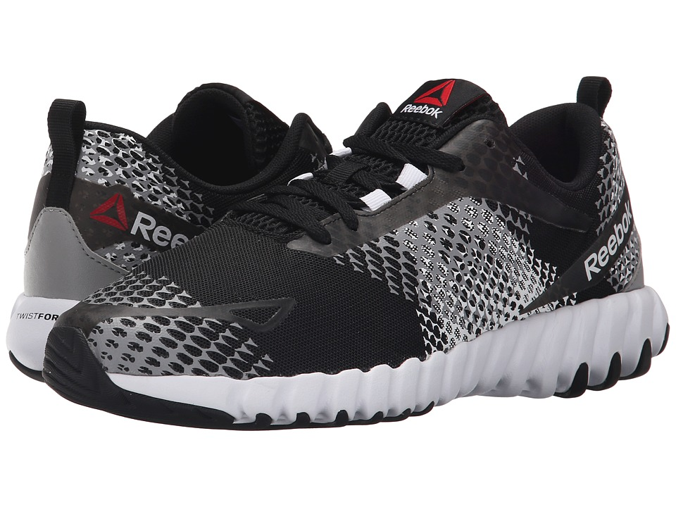 Reebok - Twistform Blaze MT (Black/White/Tin Grey) Men's Cross Training Shoes