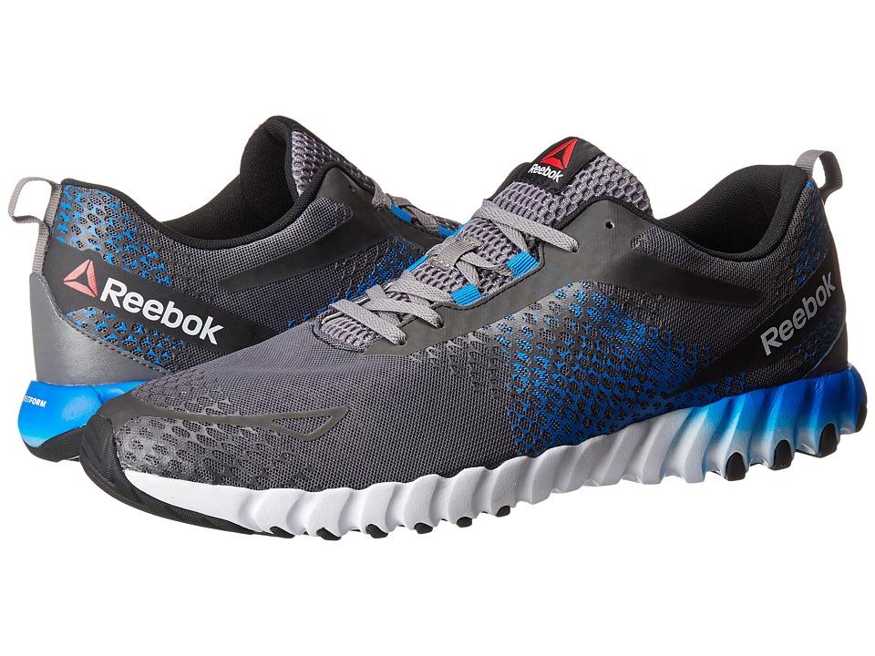 Reebok - Twistform Blaze MT (Shark/Ash Grey/Black/Blue Sport/White) Men