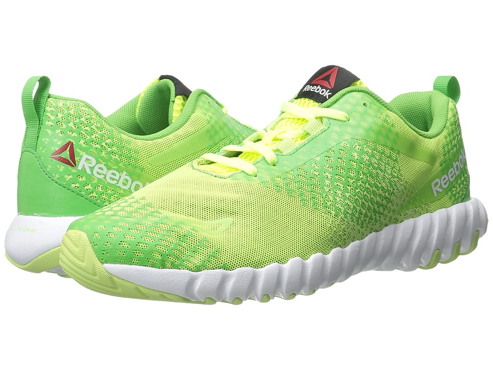 Reebok - Twistform Blaze MT (Solar Yellow/Bright Green/Luminous Lime/White) Men's Cross Training Shoes