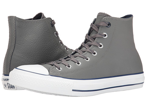 Converse - Chuck Taylor Hi (Charcoal/Dress Blues) Lace Up Cap Toe Shoes