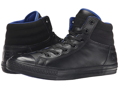 Converse - Chuck Taylor Fresh Hi (Black/Blue) Athletic Shoes