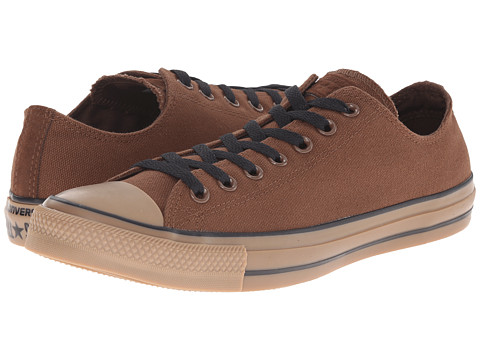 Converse - Chuck Taylor Ox (Chocolate/Gum) Lace Up Cap Toe Shoes
