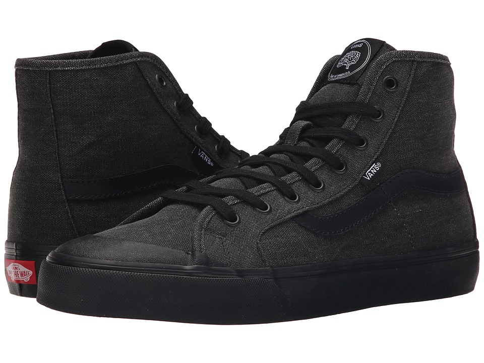 Vans - Black Ball Hi SF ((Dane Reynolds) Black/Washed) Men's Shoes