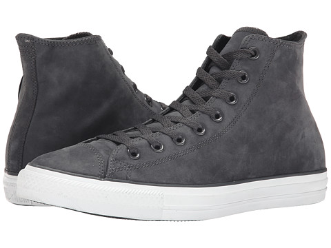 Converse - Chuck Taylor Hi (Dark Steel Gray) Lace Up Cap Toe Shoes