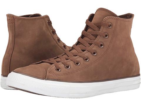 Converse - Chuck Taylor Hi (Chocolate/Oxheart) Lace Up Cap Toe Shoes