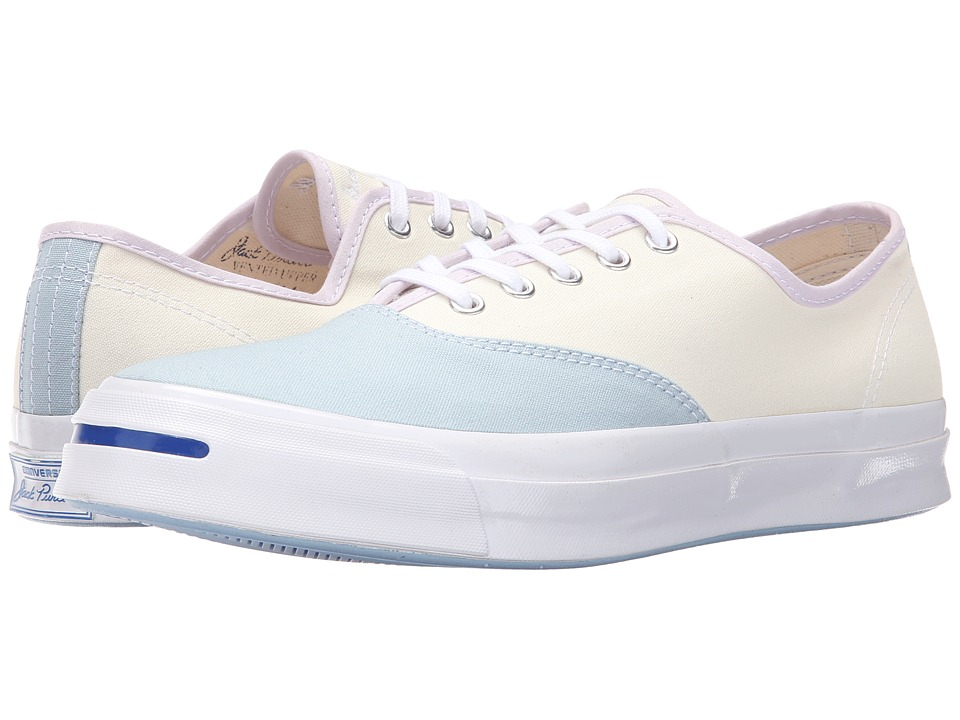 Converse - Jack Purcell Signature CVO Ox (Ambient Blue/Egret/Purple Dusk) Lace up casual Shoes
