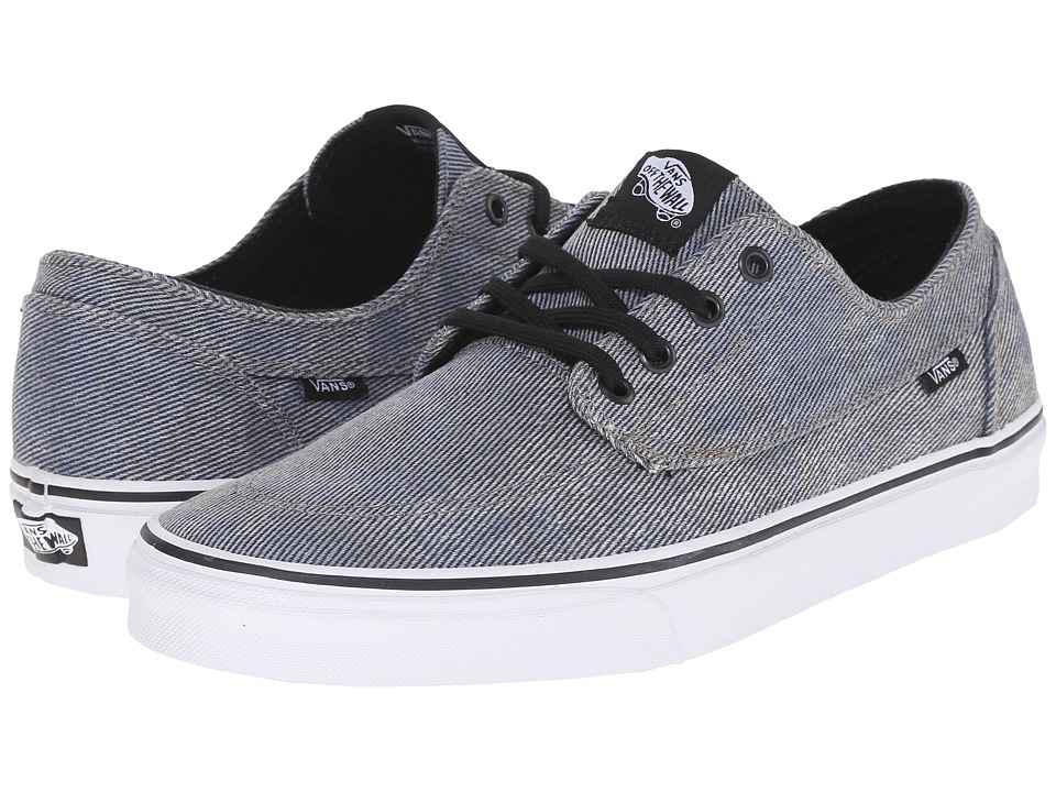 Vans Brigata ((Acid Denim) Blue/Black) Skate Shoes
