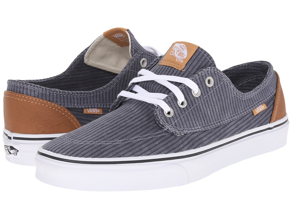 Vans - Brigata ((Washed Herringbone) Folkstone Gray) Skate Shoes