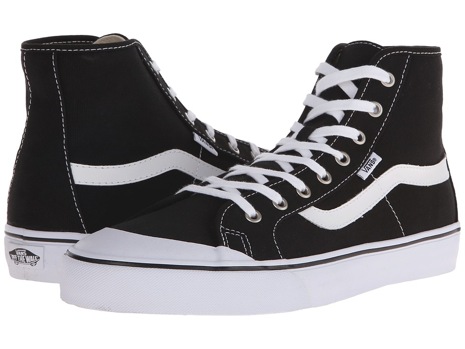 Vans - Black Ball Hi SF (Black) Men's Shoes