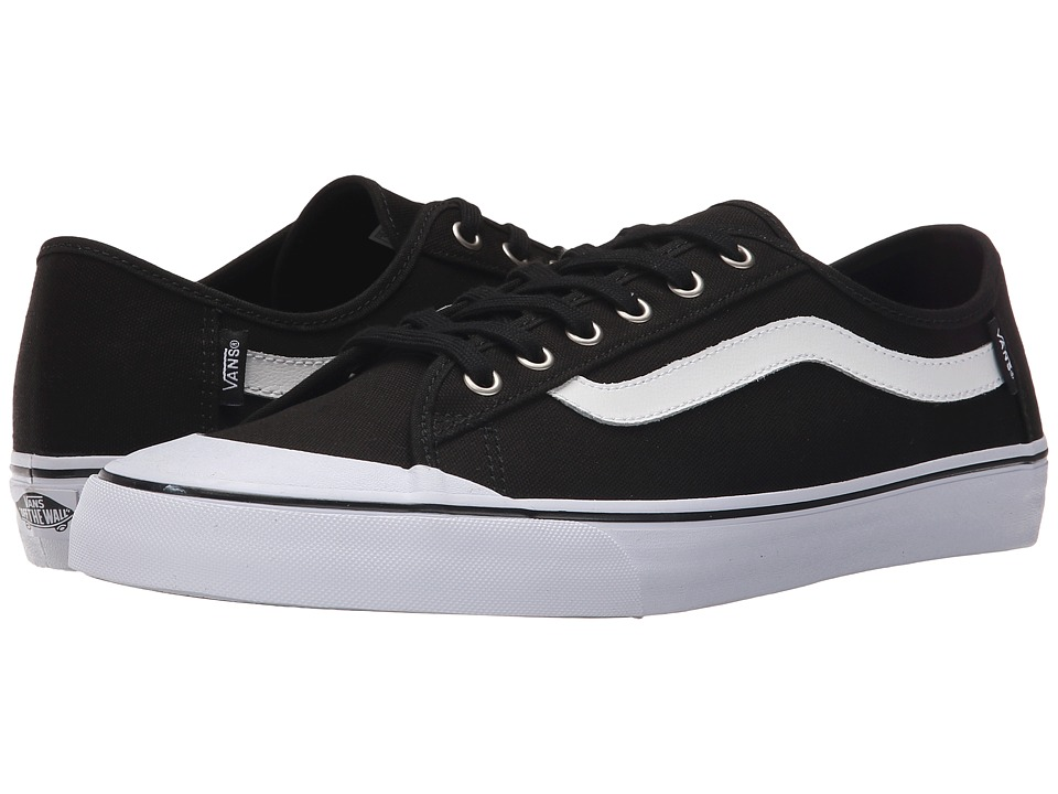 Vans - Black Ball SF (Black/True White) Men's Shoes
