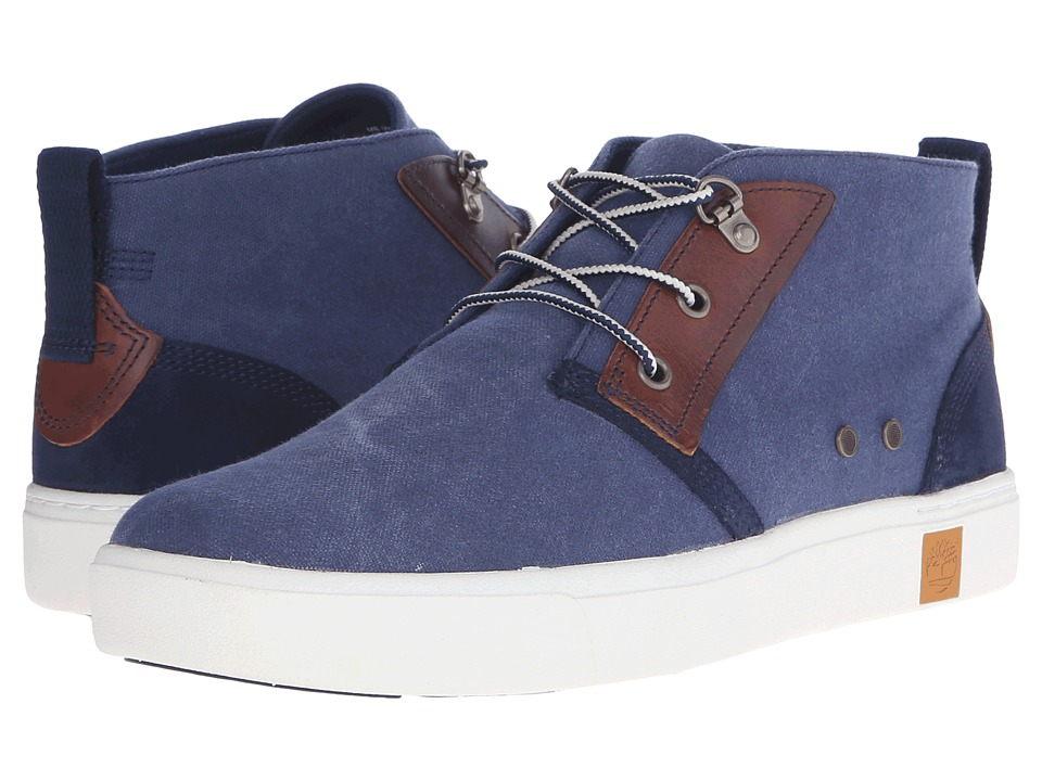 Timberland - Amherst Chukka (Navy) Men's Lace-up Boots